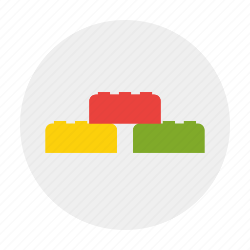 block, cube, dice, lego icon