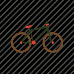 bicycle, bicycling, bike, biking, cycle, cycling, machine icon