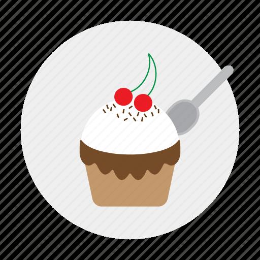 cake, cupcake, fruitcake, muffin icon