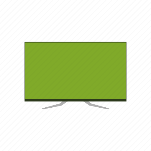 monitor, television, television set, tv icon