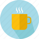 chocolate, coffee, coffee cup, food, hot drink, mug, tea cup icon