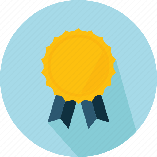 award, badge, emblem, insignia, medal, reward icon