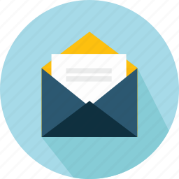 contents, email, envelope, interface, mail, message, open icon