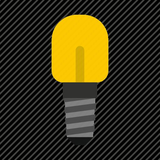 concept, electricity, energy, idea, incandescent, lamp, small icon