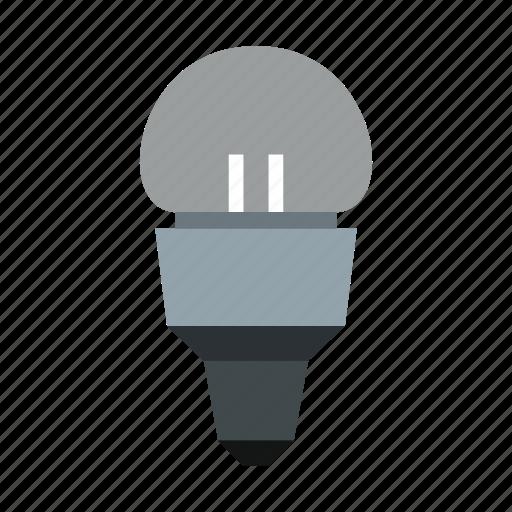 concept, electricity, energy, idea, inspiration, lamp, led icon