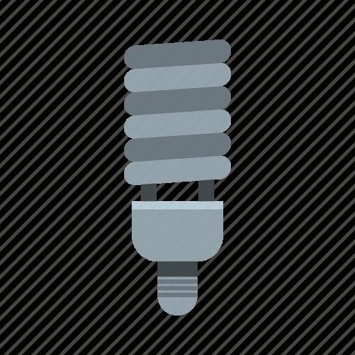 cfl, concept, electricity, energy, idea, inspiration, light icon