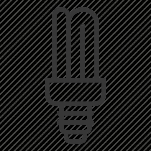 bright, bulb, electric, fluorescent, fluorescent lamp, fluorescent tube, light icon