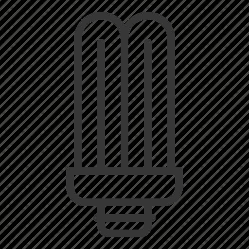 bright, bulb, electric, fluorescent, fluorescent tube, light icon