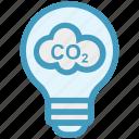 bulb, cloud, ecology, energy, idea, light, light bulb icon