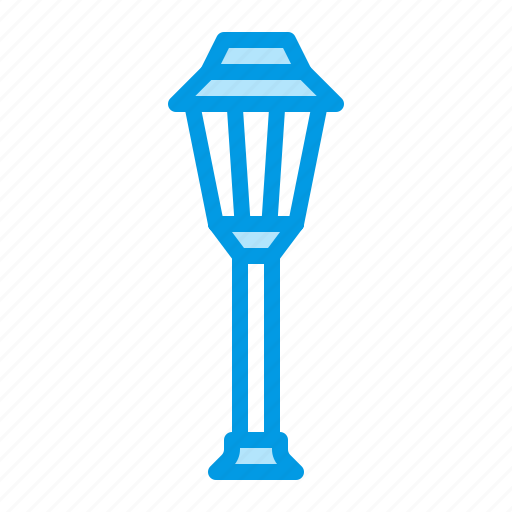 lamp, light, outdoor icon