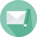 email, envelope, interface, letter, mail, message, note icon