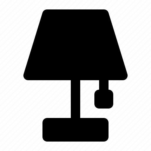 Lamp, light, table icon - Download on Iconfinder