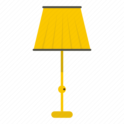 bulb, decoration, electric, electricity, floor, floor lamp, lamp icon