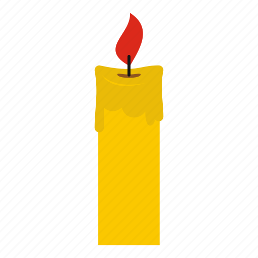 birthday, candle, candlelight, fire, flame, glow, wax icon