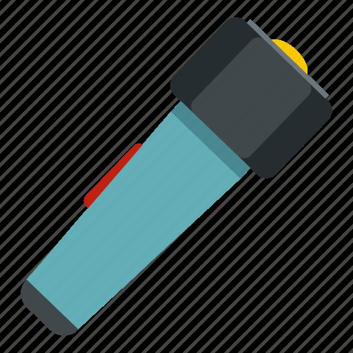 bulb, dark, electric, hand flashlight, led, spotlight, torch icon