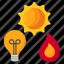 light, source, lamp, fire