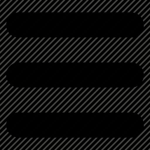 drawer, hamburger, lines, list, menu, navigation icon