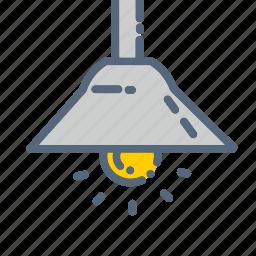 bulb, furniture, lamp, light, lights, night, stand icon