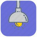 bulb, furniture, lamp, light, lights, night, stand icon