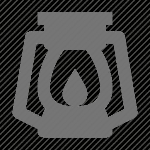 lamp, lantern icon