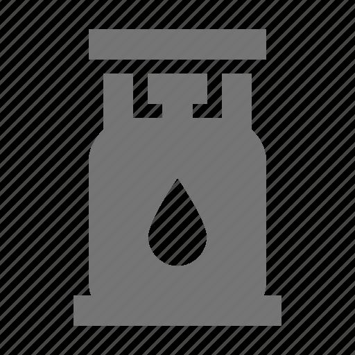 gas tank, lantern icon