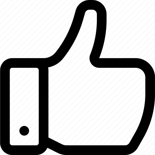 favorite, like, thumb up, thumbs, thumbs up icon