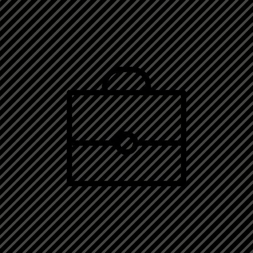 briefcase, business, document, job, office, portfolio, work icon