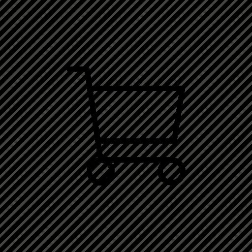 basket, business, cart, market, retail, shop, store icon