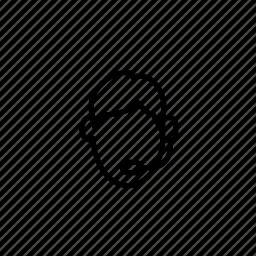 admin, avatar, operator, person, profile, social, user icon