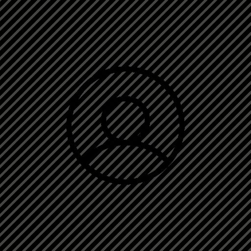 admin, avatar, person, personal, profile, social, user icon