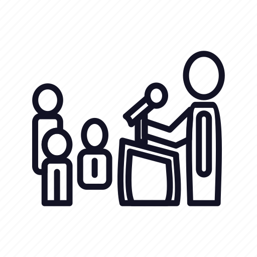 call, chat, communication, conference, conversation, group, team icon