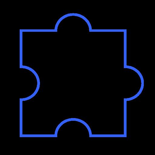 component, concept, detail, extension, modeling, part, problem, puzzle, quiz icon