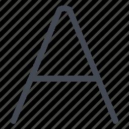 alphabet, choose, custom, font, personalize icon