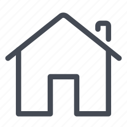 familiar, home, house, place, save icon
