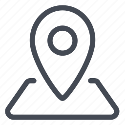 arrow, gps, location, map, position, special icon