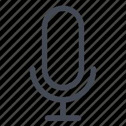 microphone, radio, speak icon