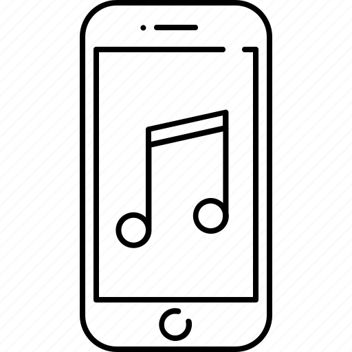 device, entertainment, gadget, music, phone, smart icon