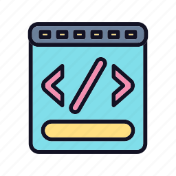 code, code-to-text-ratio, coding, development, programming, ratio, text icon