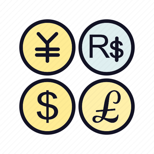 bank, conversion, conversion-of-currency, currency, dollar, exchange, pound icon