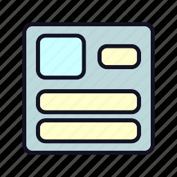 account, create, creation, edit, file, shape, user icon