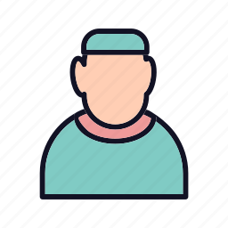 avatar, doctor, doctor-head, head, medical, people, stethoscope icon