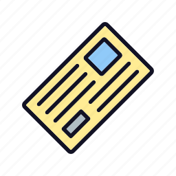 chat, communication, envelope, inbox, open, post, text icon
