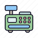 fax, inkjet, laser, office, phone, print, printers icon