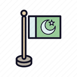 circle, country-flag, flag, flags, pakistan-flag, pin, world icon