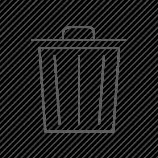 bin, corb, delete, remove, trash icon