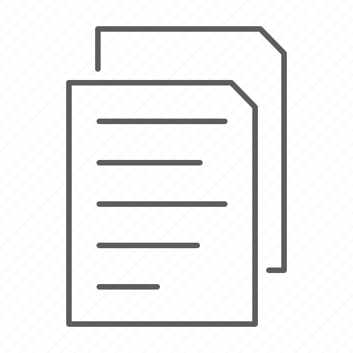 document, documents, files, paper, papers, sheet icon