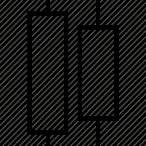 center, distribute, horizontal, software icon