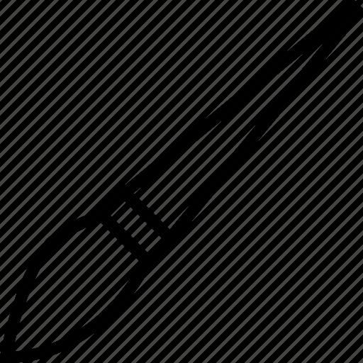 paintbrush, software icon