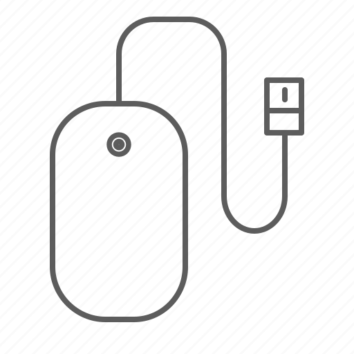 laptop, mouse, usb icon