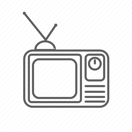 film, retro, serie, television, tv, tv show, watch icon